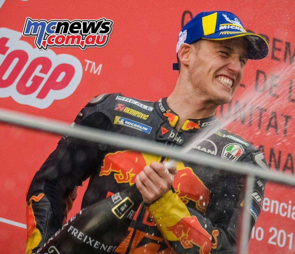 MotoGP Valencia Pol Espargaro Podium