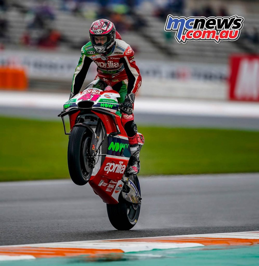 MotoGP Valencia QP Aleix Espargaro