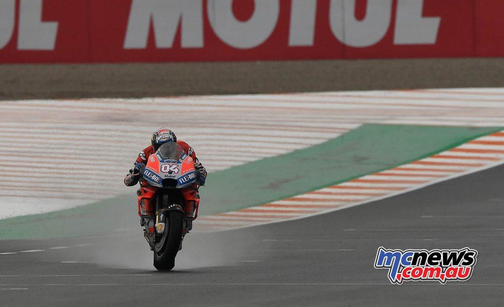 MotoGP Valencia QP Dovizioso