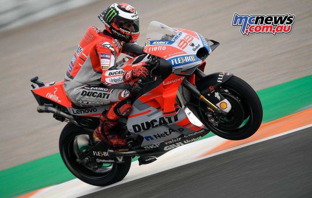 MotoGP Valencia QP Lorenzo