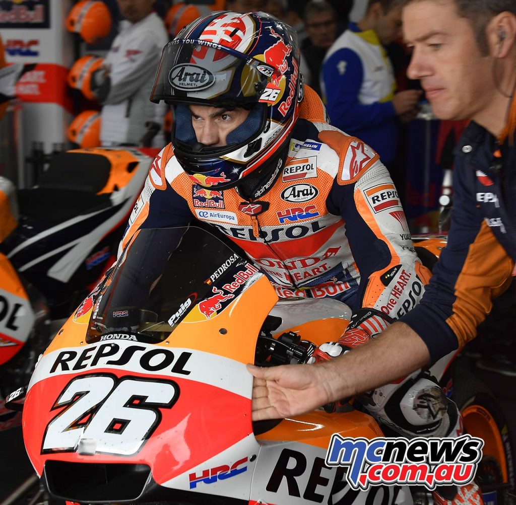 MotoGP Valencia QP Pedrosa