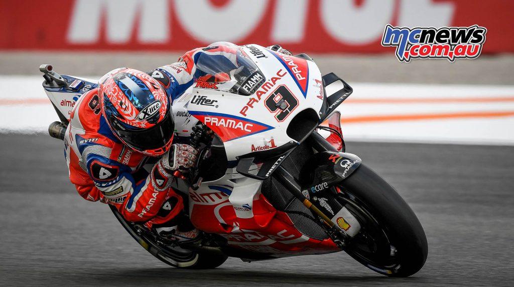 MotoGP Valencia QP Petrucci