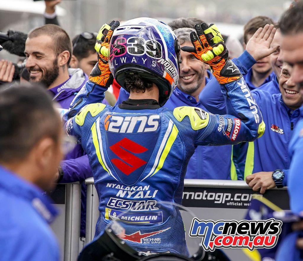 MotoGP Valencia QP Rins