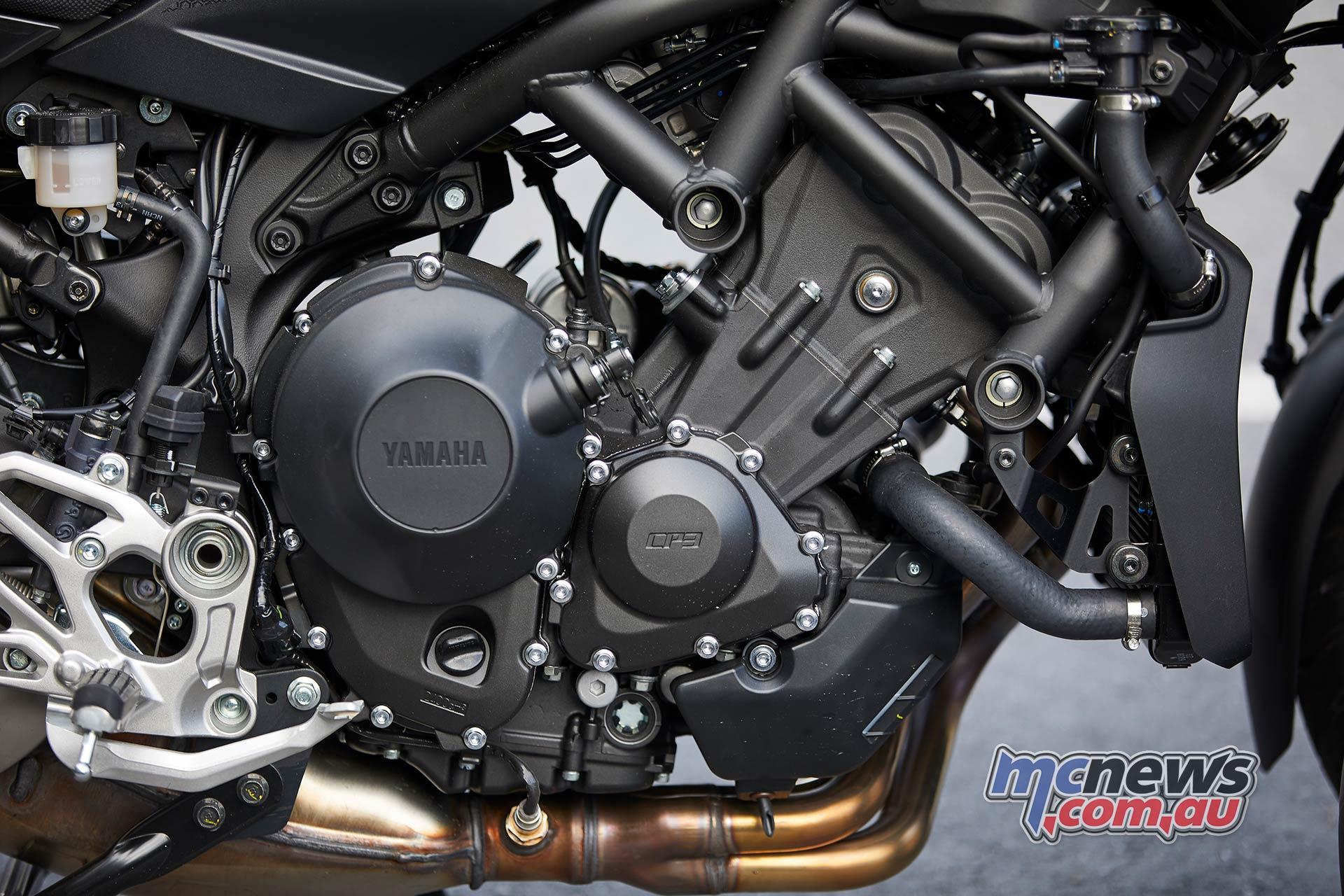 Yamaha Niken Engine