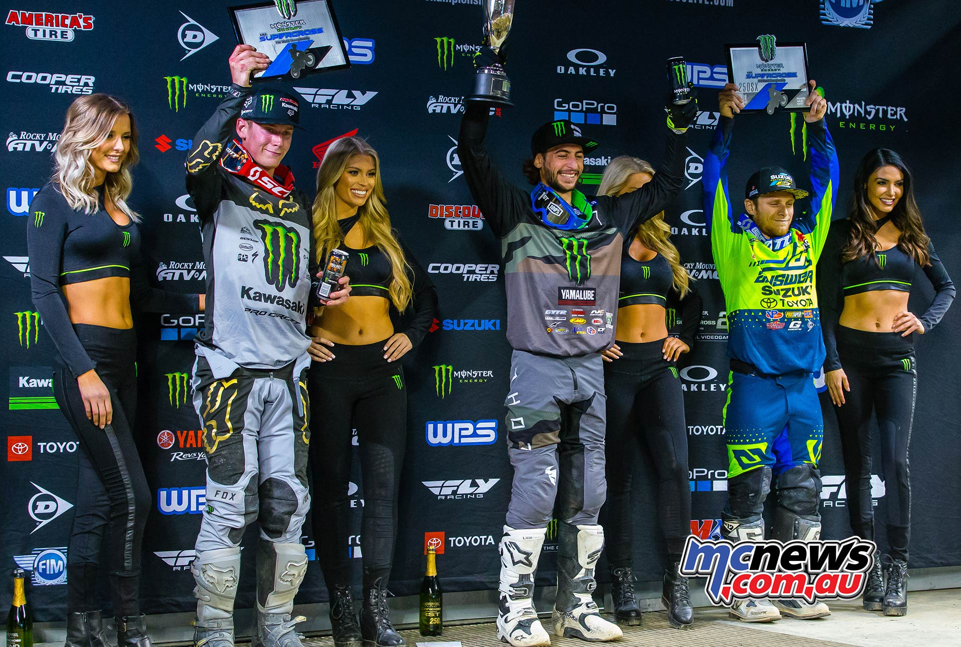 AMA SX Rnd Podium JK SX Seattle
