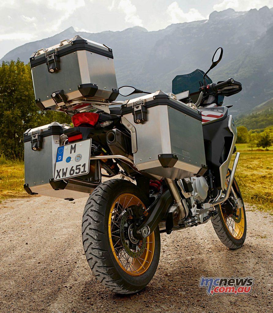 BMW FGS Adventure Luggage