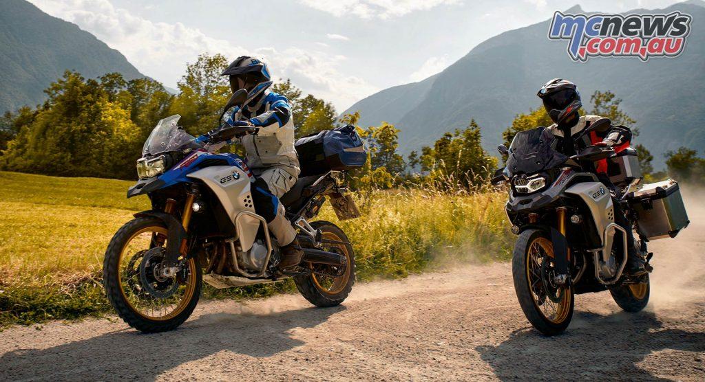 BMW FGS Adventure Pair