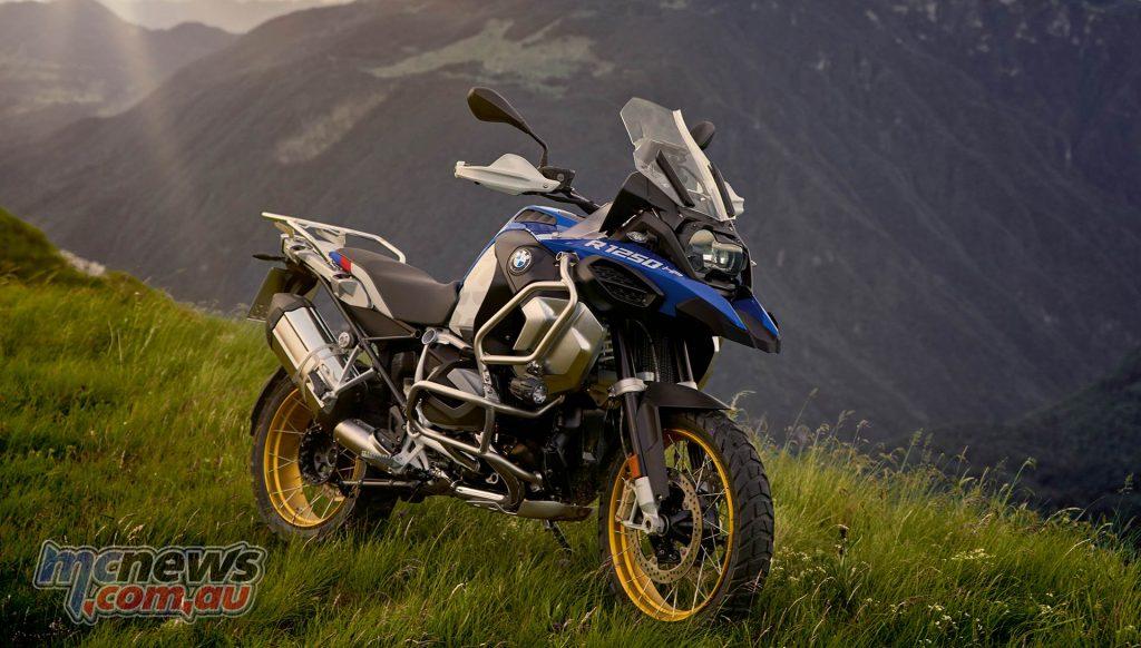 BMW R GS Adventure Scene