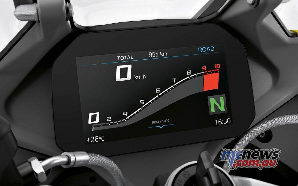 BMW R RS Studio Dash
