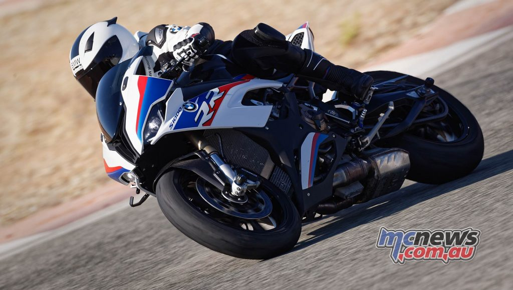 BMW S RR Action