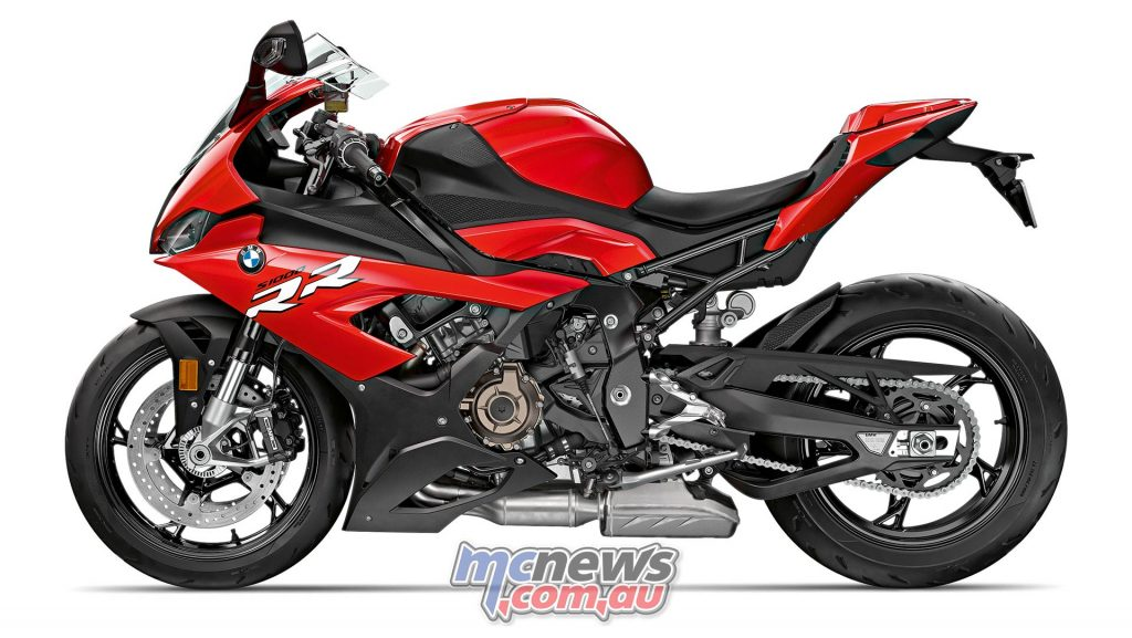 BMW S RR Red LHS