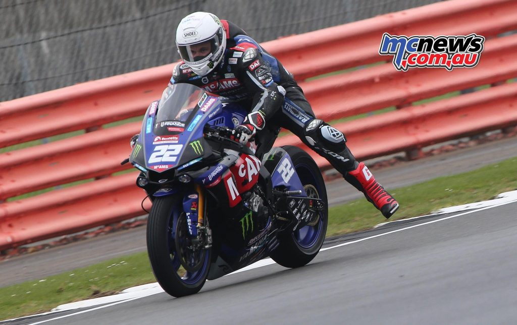 BSB Test Silverstone Tue Jason OHalloran throwing out the anchor DyeomansImage
