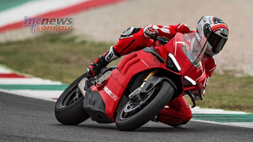 Ducati Panigale VR Action