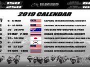 FIM Asia Road Racing Championship Calendar