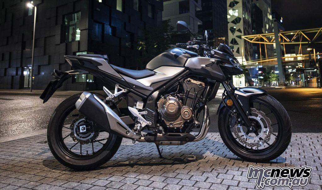 Honda CBF Scene