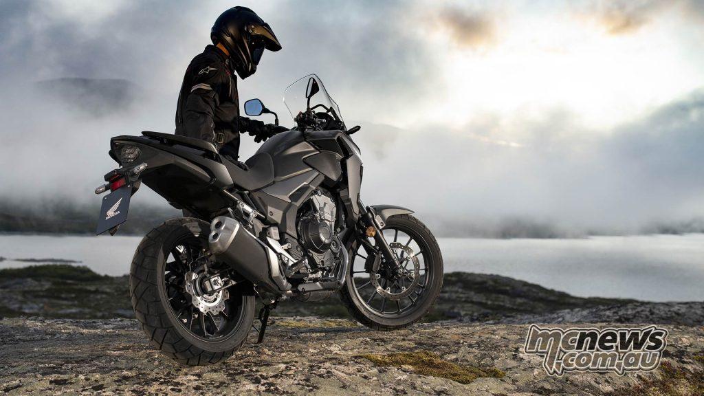 Honda CBX Scene