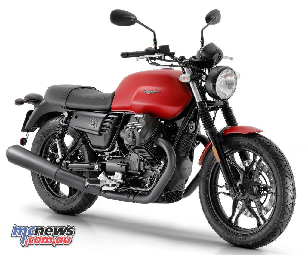 Moto Guzzi V III Stone