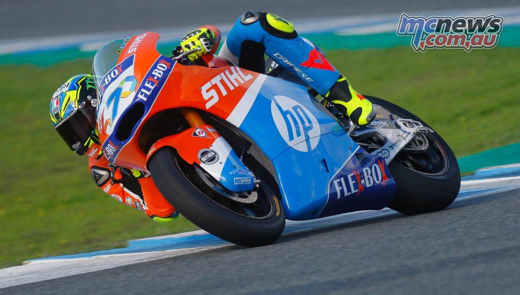Moto Test Jerez Day Lorenzo Baldassarri