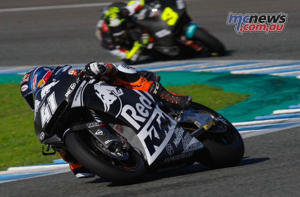 Moto Test Jerez Day Brad Binder