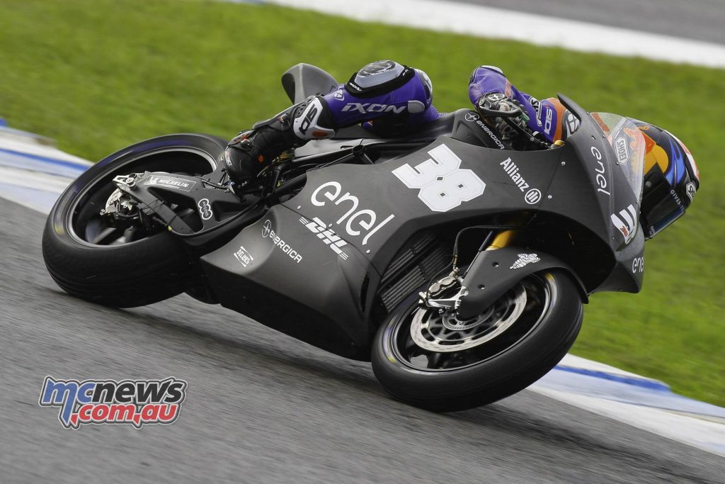 Moto Test Jerez Day Bradley Smith