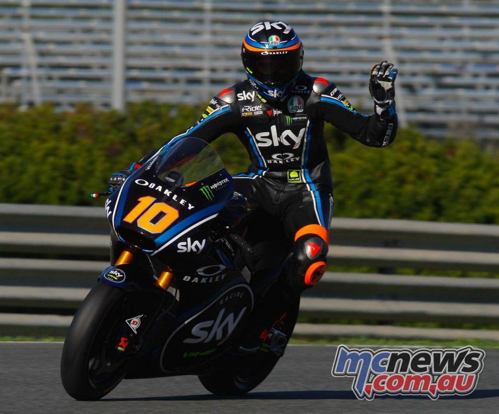 Moto Test Jerez Day Luca Marini