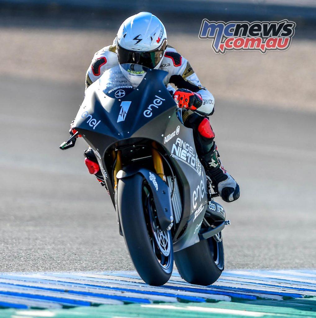 MotoE Test Jerez Day Nico Terol