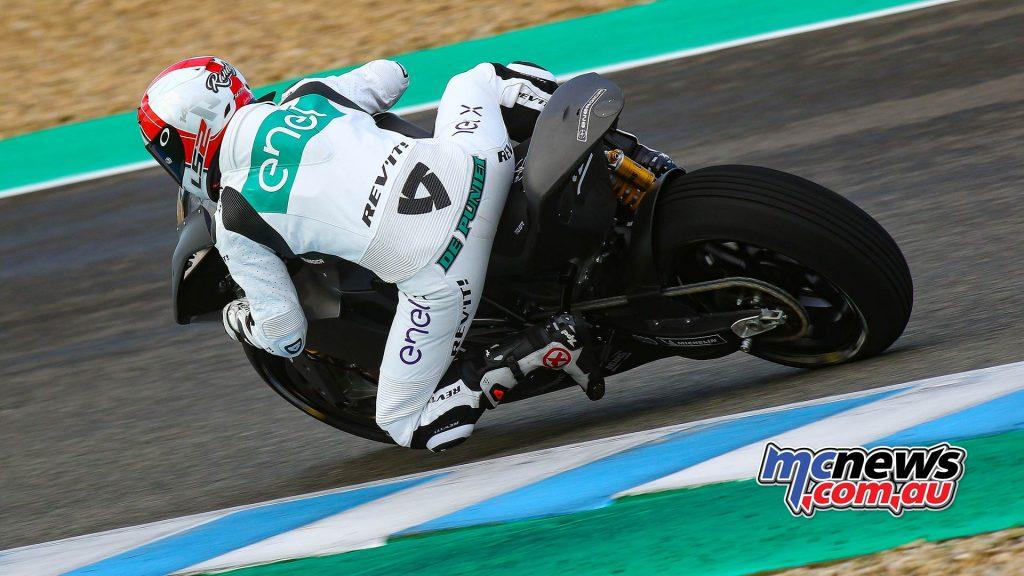 MotoE Test Jerez Day Randy De Puniet