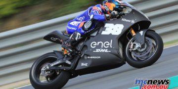 MotoE Test Jerez Day Bradley Smith
