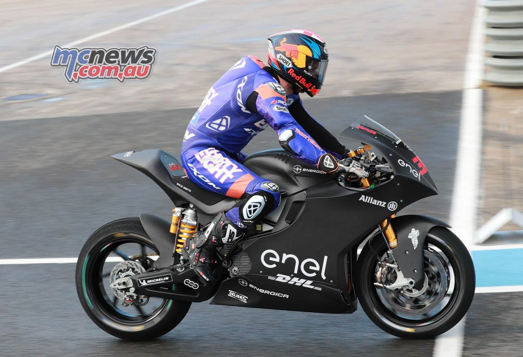MotoE Test Jerez Day Bradley Smith