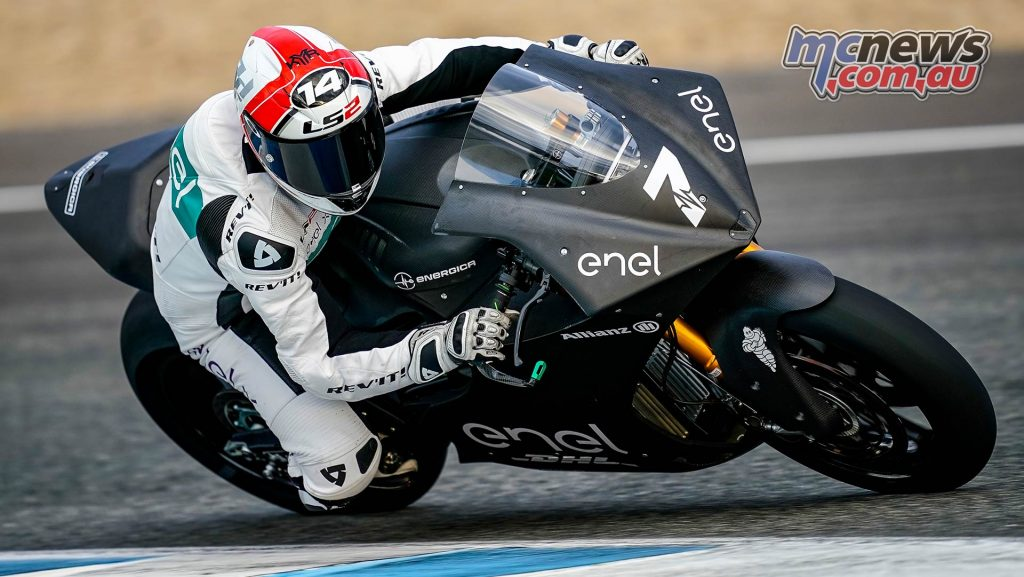 MotoE Test Jerez Day Randy De Puniet
