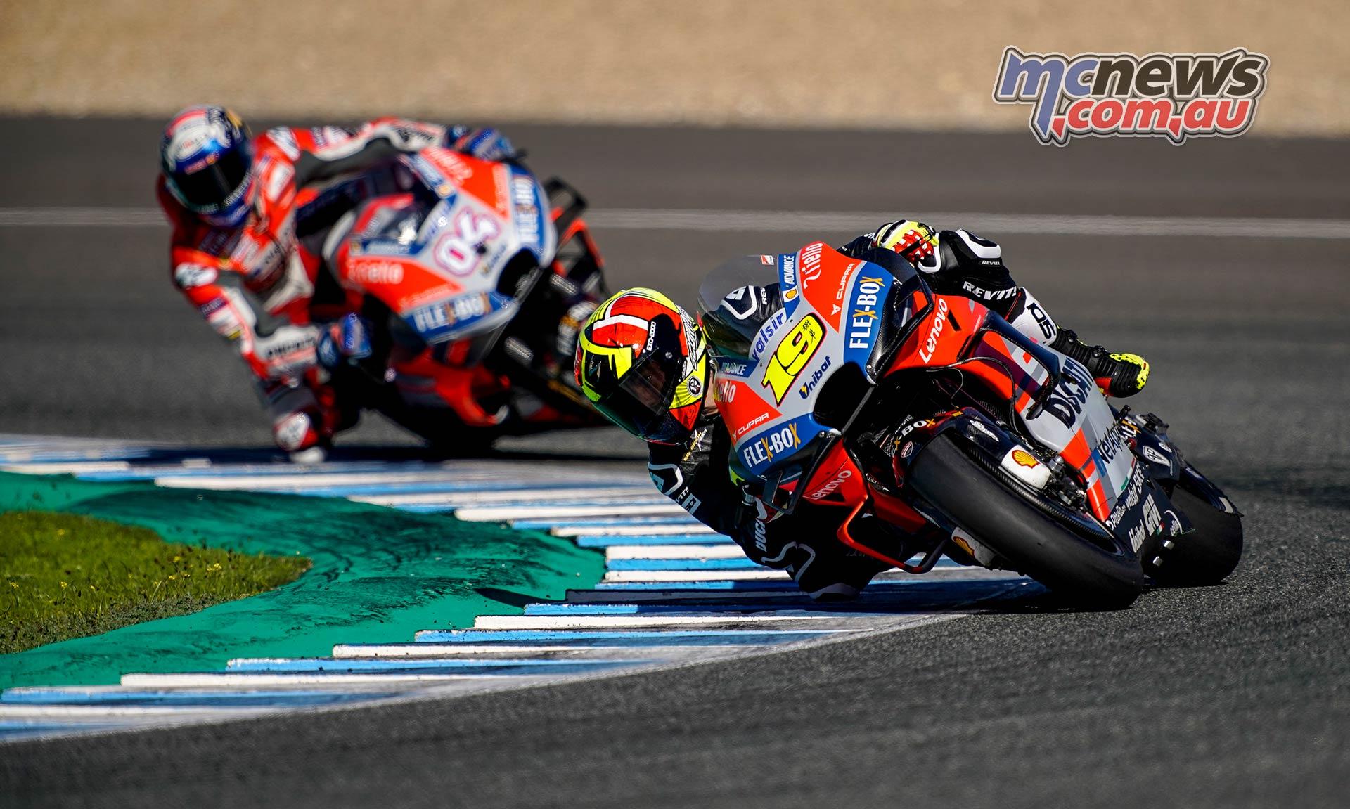 MotoGP Test Jerez Nov Day Alvaro Bautista