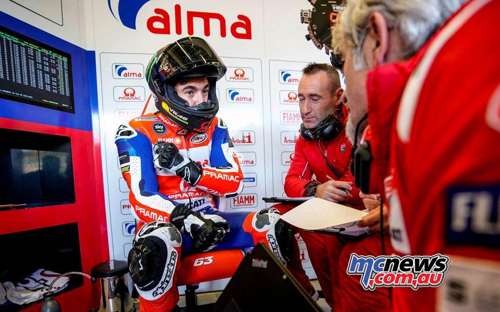 MotoGP Test Jerez Nov Day Bagnaia