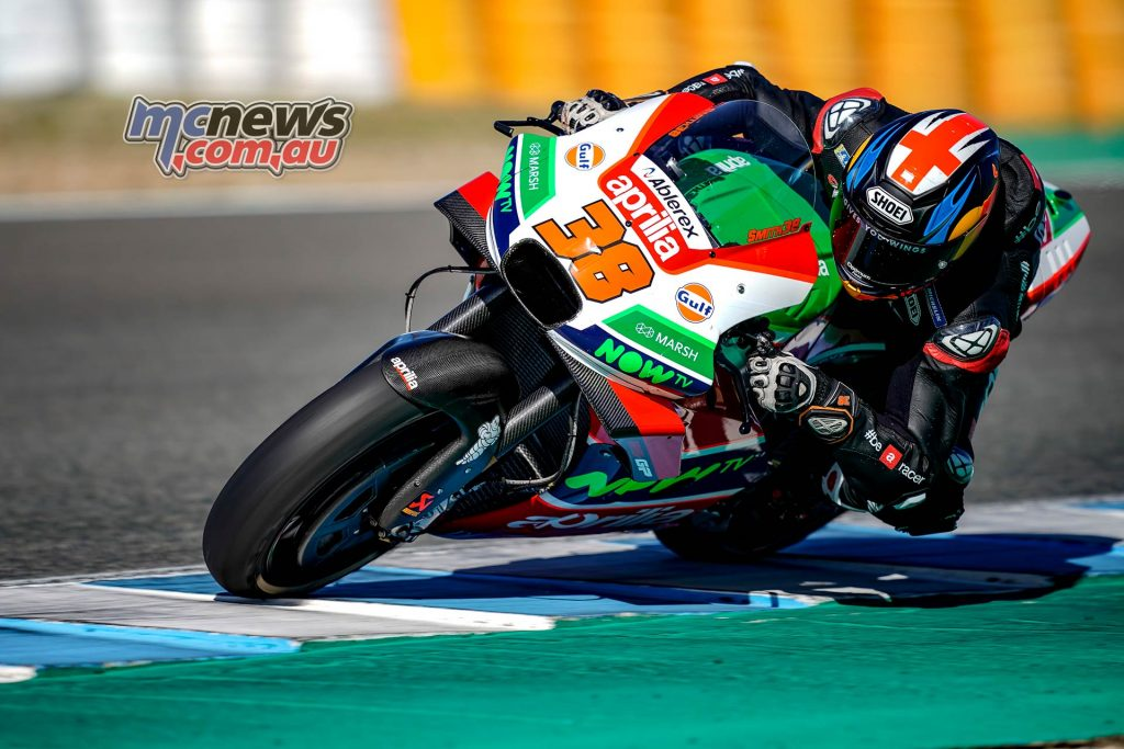 MotoGP Test Jerez Nov Day Bradley Smith