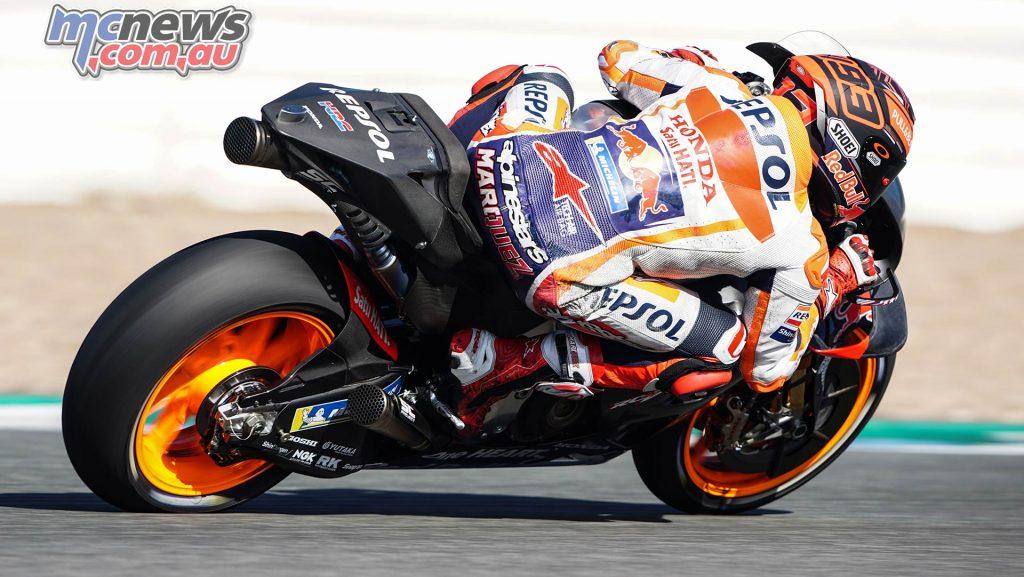 MotoGP Test Jerez Nov Day Marc Marquez
