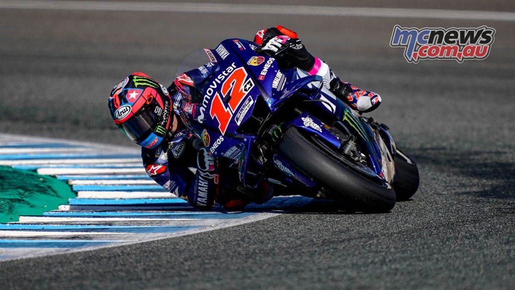 MotoGP Test Jerez Nov Day Maverick Vinales