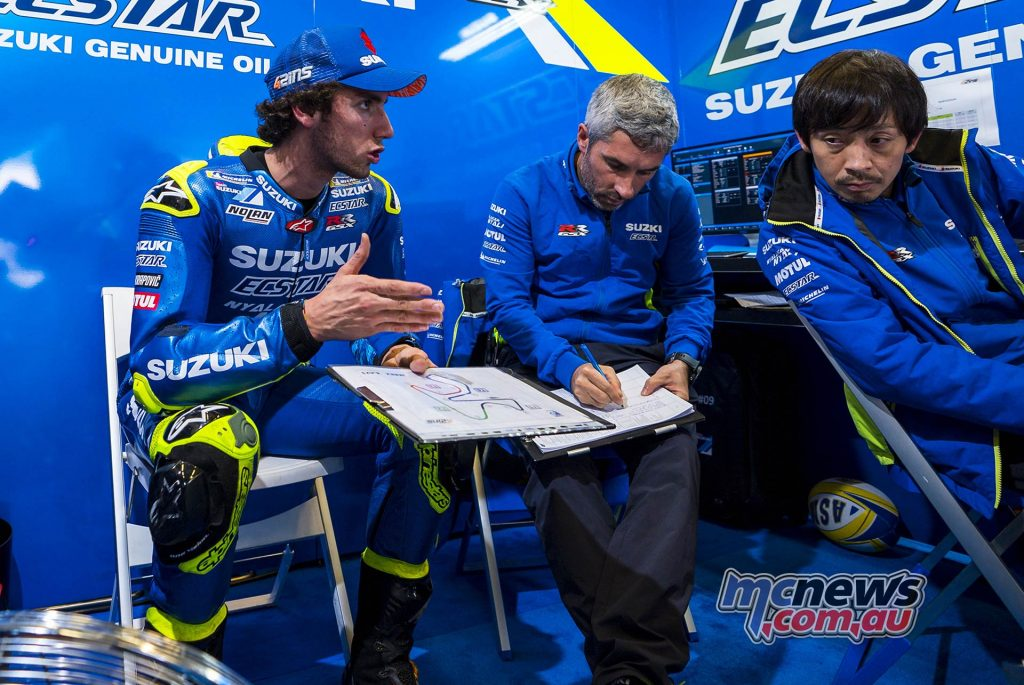 MotoGP Test Jerez Nov Day Alex Rins