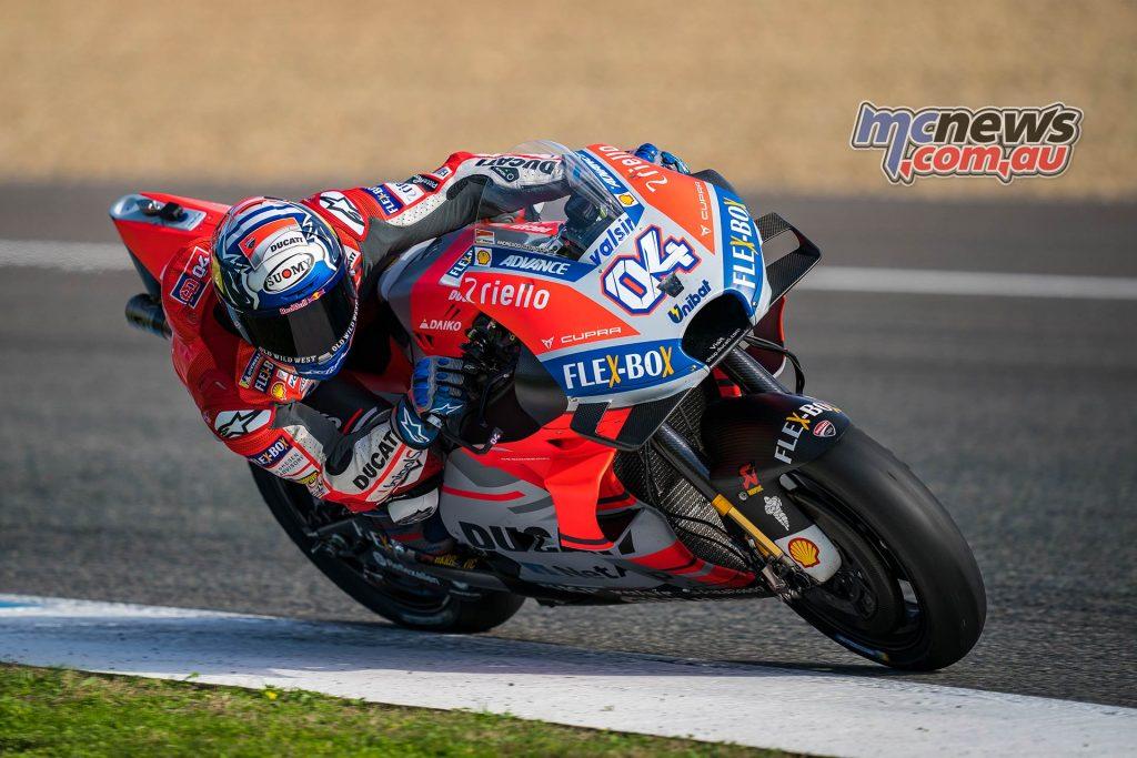 MotoGP Test Jerez Nov Day Andrea Dovizioso
