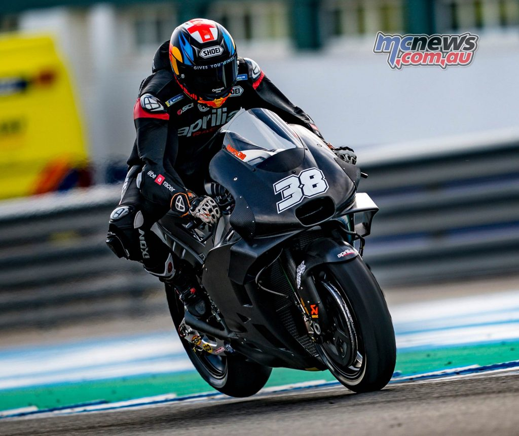 MotoGP Test Jerez Nov Day Bradley Smith