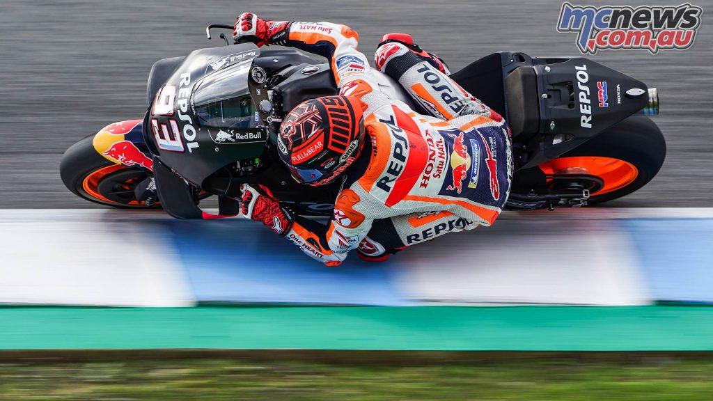 MotoGP Test Jerez Nov Day Marquez