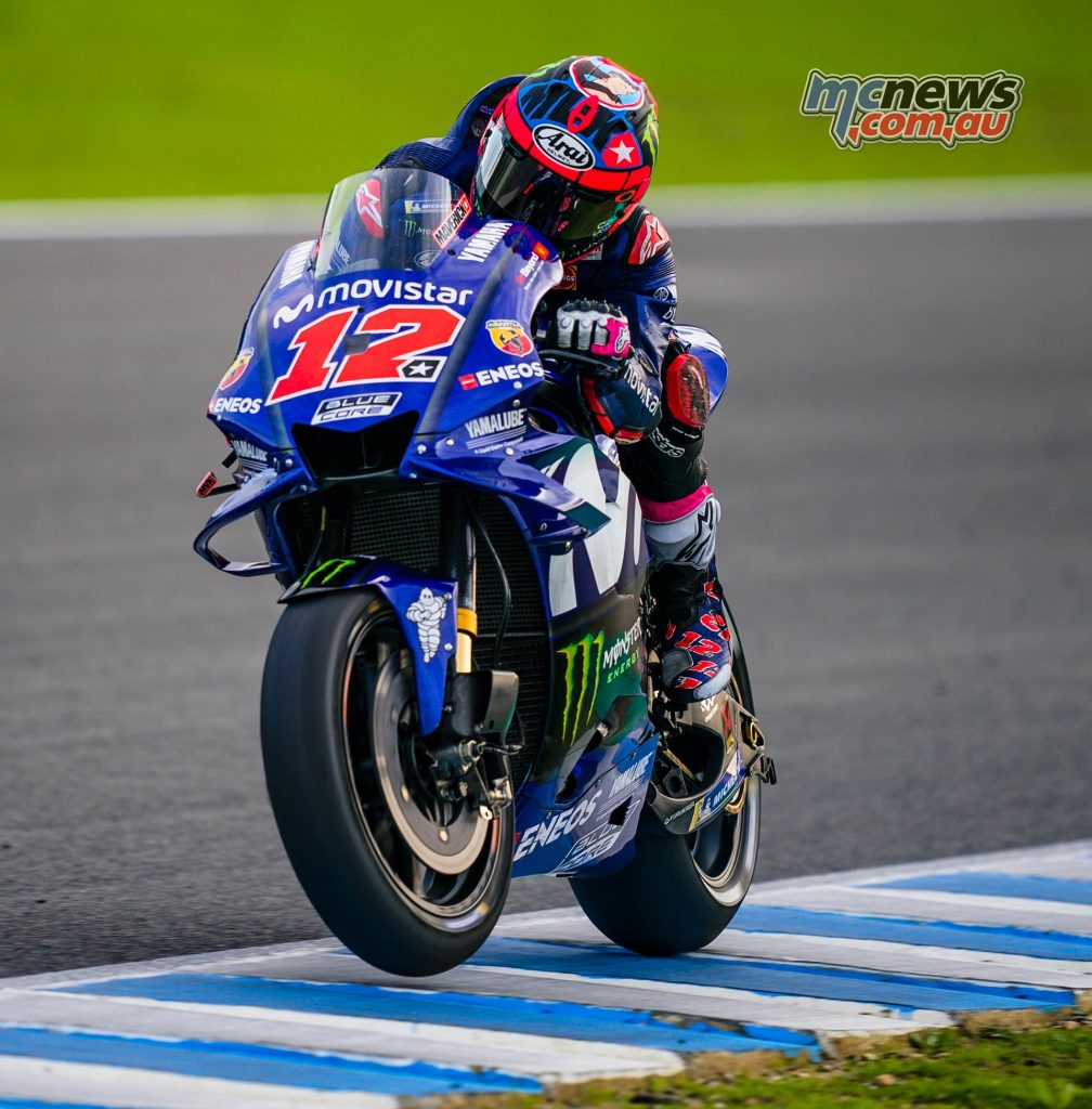 MotoGP Test Jerez Nov Day Maverick Vinales