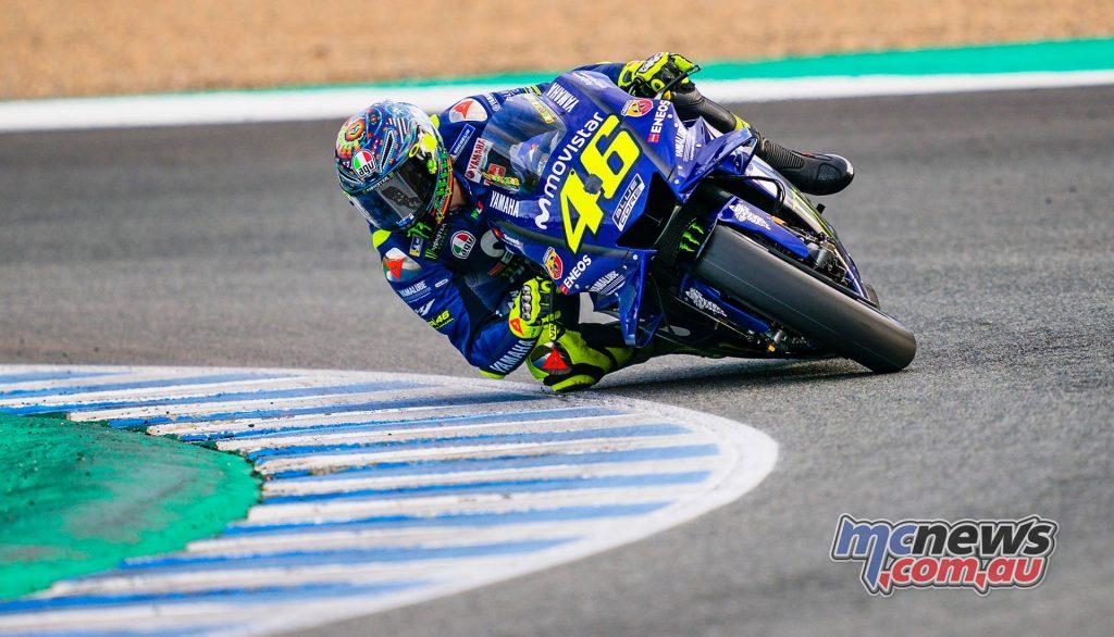 MotoGP Test Jerez Nov Day Valentino Rossi