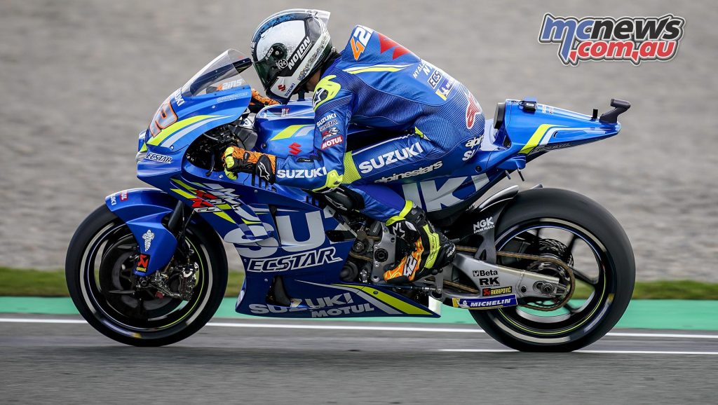 MotoGP Test Valencia Day Alex Rins