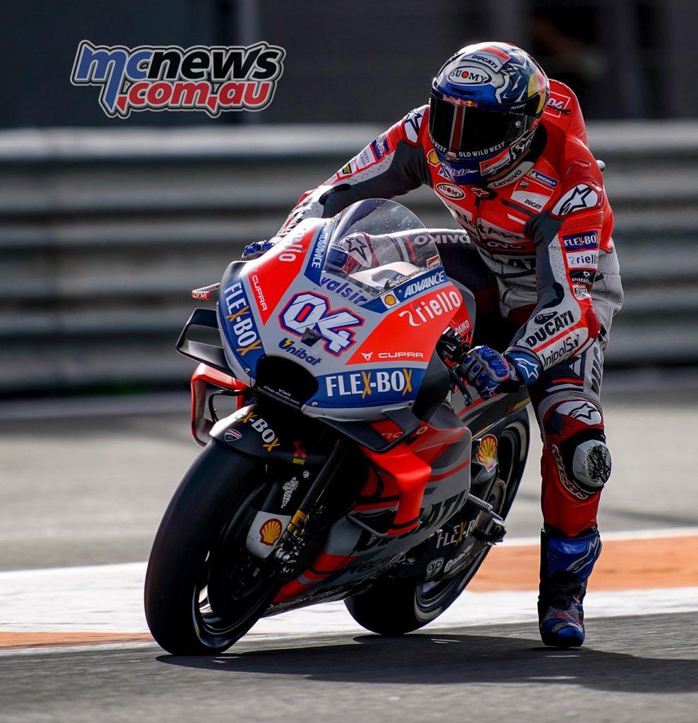 MotoGP Test Valencia Day Andrea Dovizioso