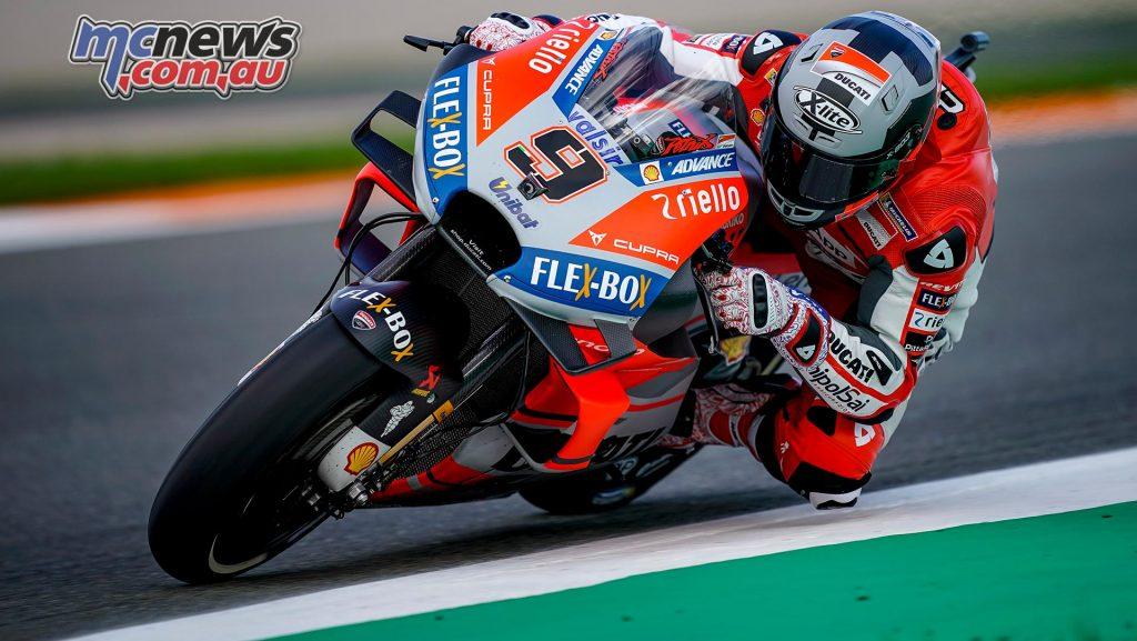 MotoGP Test Valencia Day Danilo Petrucci