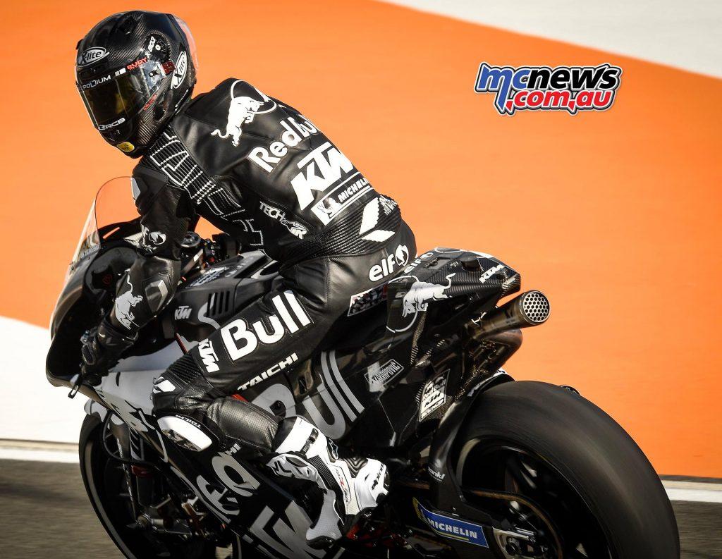 MotoGP Test Valencia Day Hafizh Syahrin