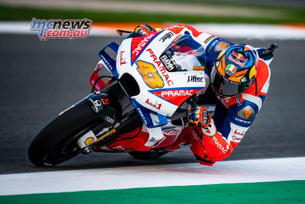 MotoGP Test Valencia Day Jack Miller