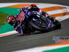 MotoGP Test Valencia Day Maverick Vinales