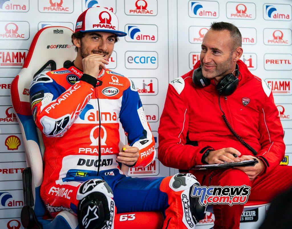 MotoGP Test Valencia Day Pecco Bagnaia