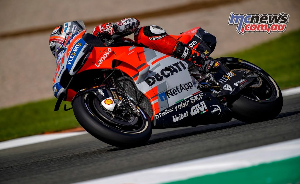 MotoGP Test Valencia Day Pirro
