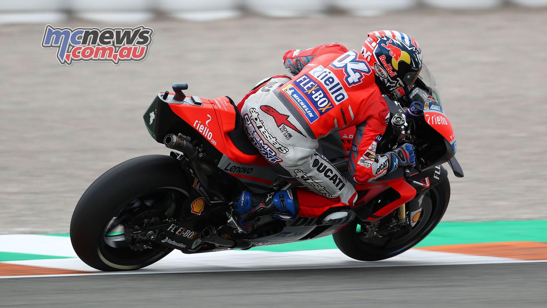MotoGP Valencia Test Dovi GPT AN